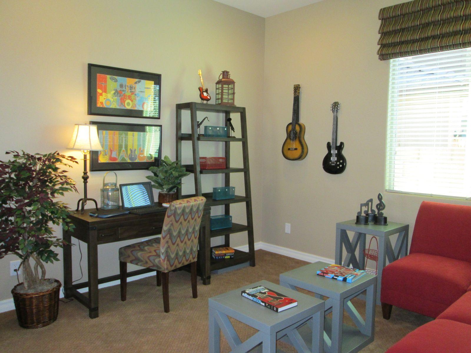 Music room. | Family living rooms, Family room, Room