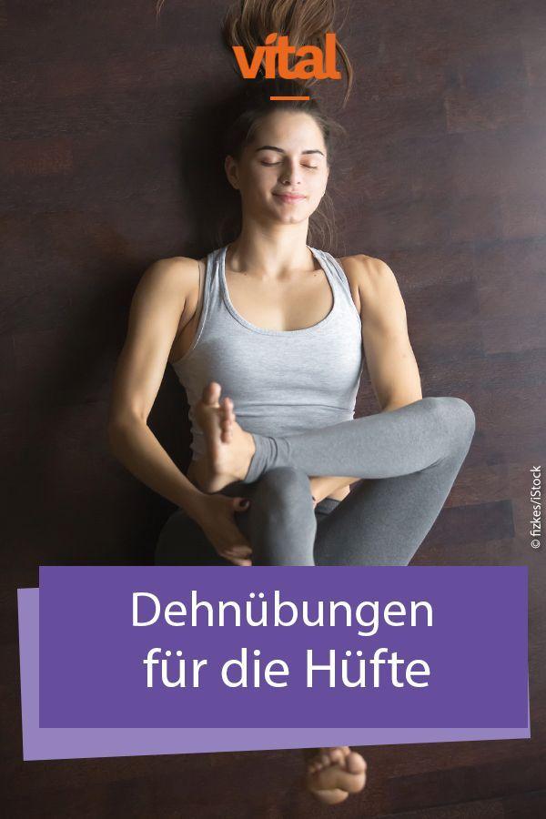 #Dehnübungen für die #Hüfte sind für euch etwas Neues? Probiert diese Übungen hier aus - sie lösen a...
