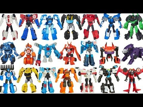 New Transformers Robots In Disguise Wave 1 2 Full Set Legion Class Optimus Bumblebee Youtube Transformer Robots Transformers Movie Transformers