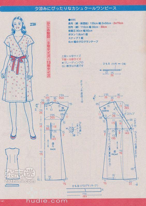 Pin de adelebrunette en Sewing dress | Pinterest | Patrones, Costura ...