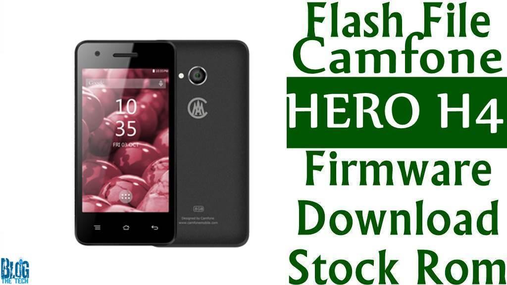 Flash File Camfone HERO H4 Firmware Download Stock Rom