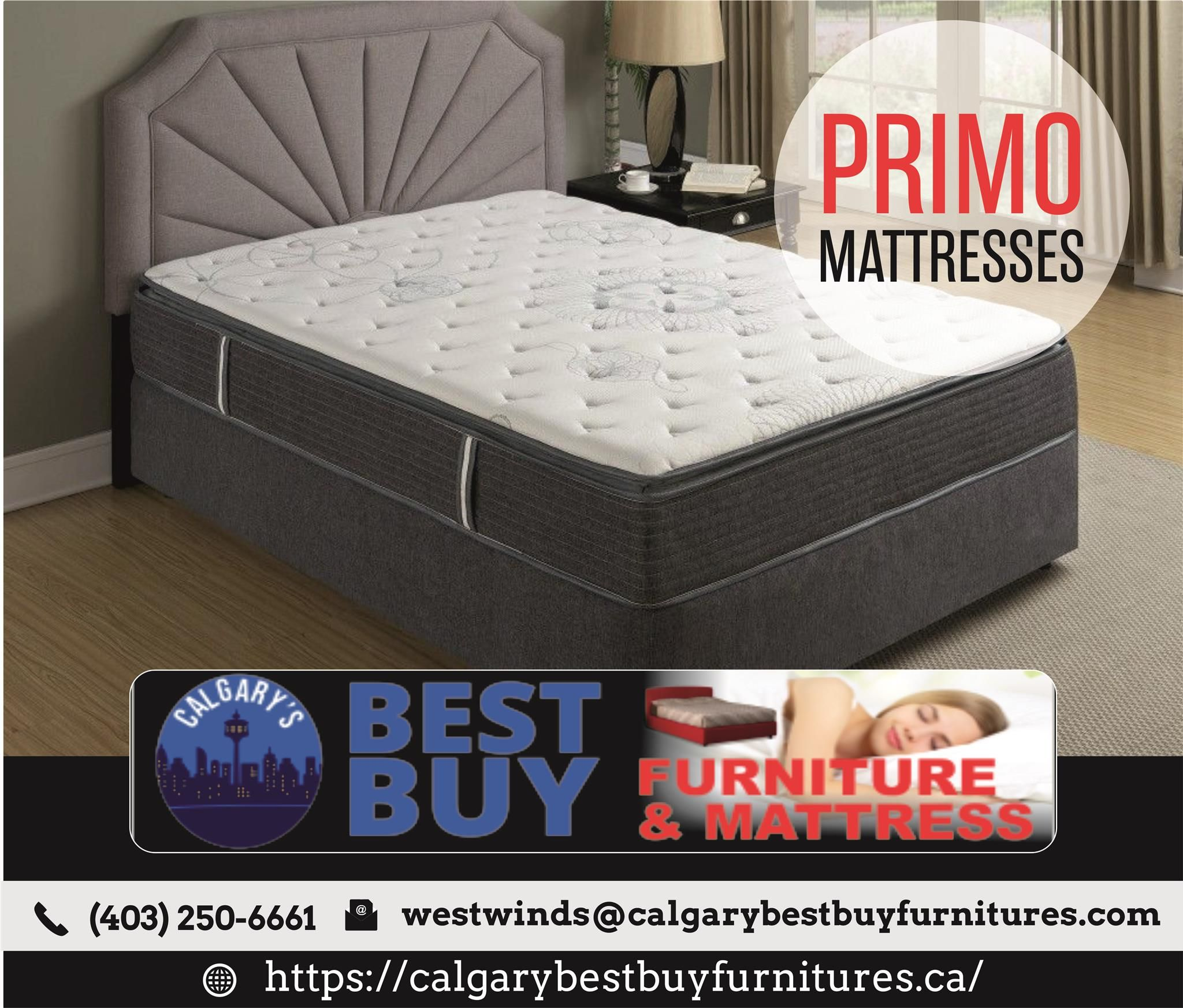 Shop Primo Mattress Calgary Furniture Affordable Furniture Bed