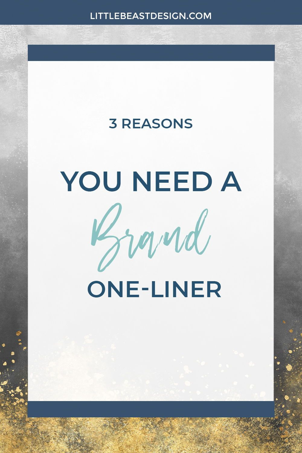 Are you a creative entrepreneur looking for branding tips and inspiration? Click through to find out 3 reasons why you need a brand one-liner! #brandingtips #onlinebusiness #creativeentrepreneur #branding