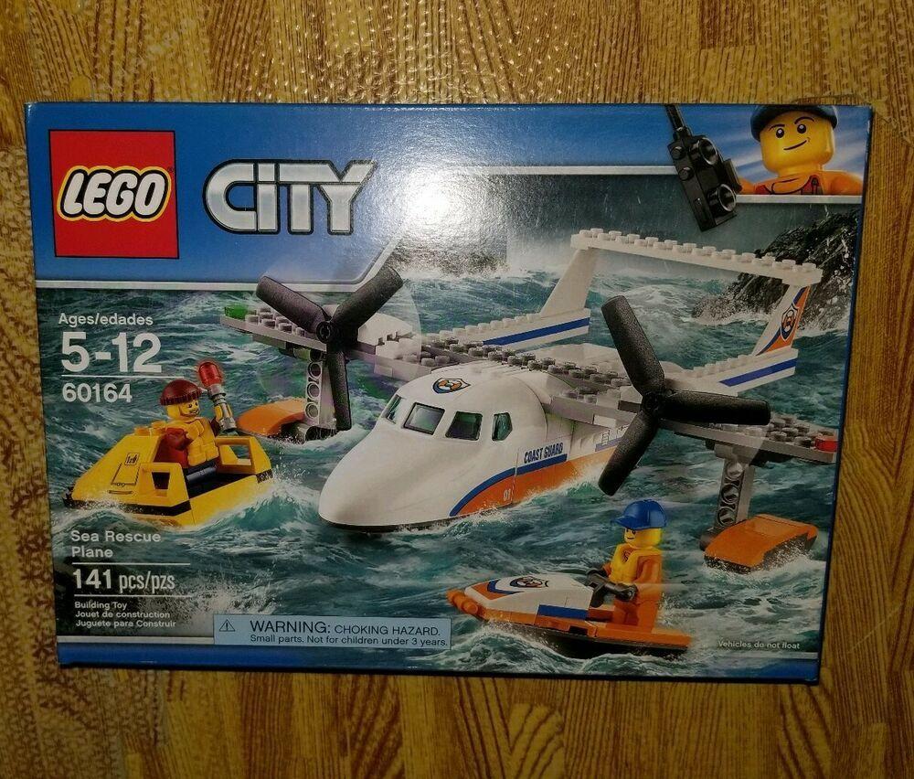 "LEGO UK 60164 /""Sea Rescue Plane/"" Construction Toy"