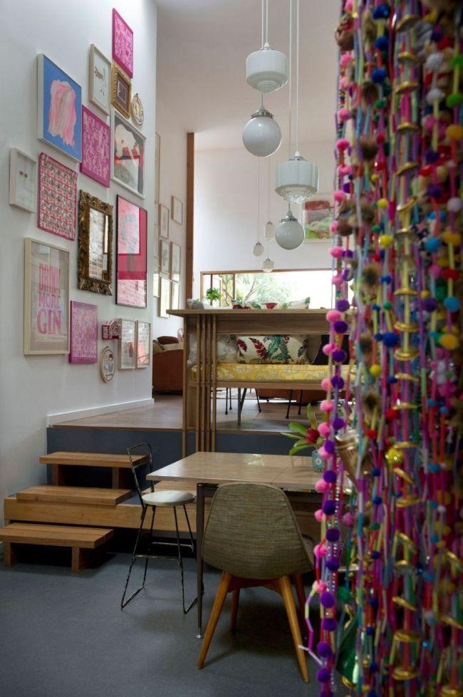 eklektische einrichtungs stilmix pink holz Marrickville House ...