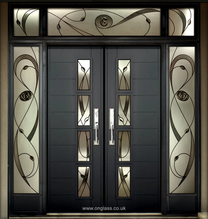 Rennie Mackintosh door surround