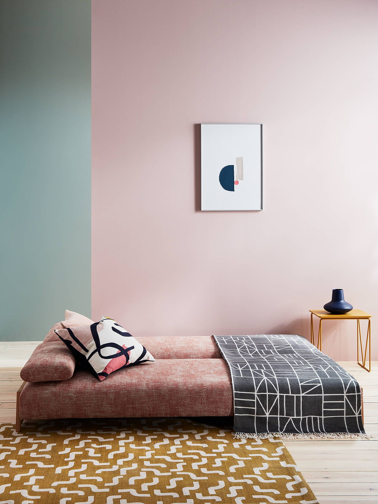 This John Lewis sofa bed is what hosting dreams are made