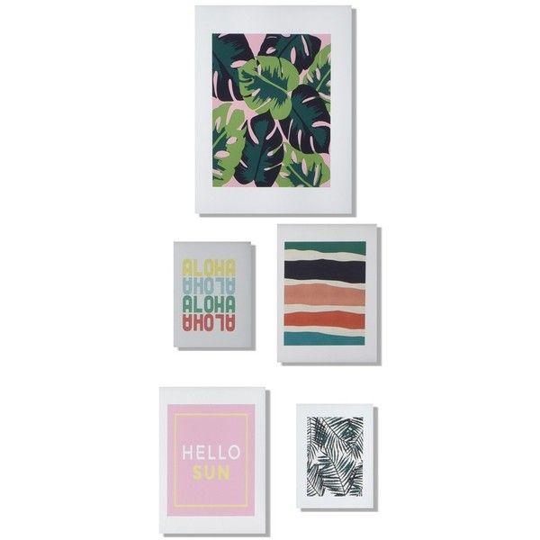 Deny Designs U0027Patio Partyu0027 Wall Art Gallery (u20ac89) ❤ Liked On
