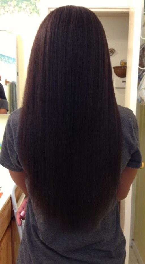 Waist Length Hair Relaxed Hair Long Relaxed Hair Growing