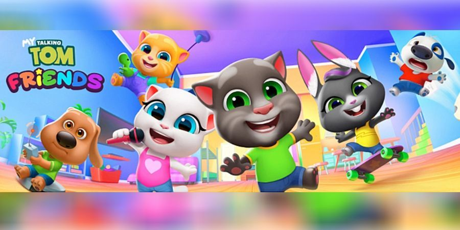 My Talking Tom Friends Is Now Available for Android and