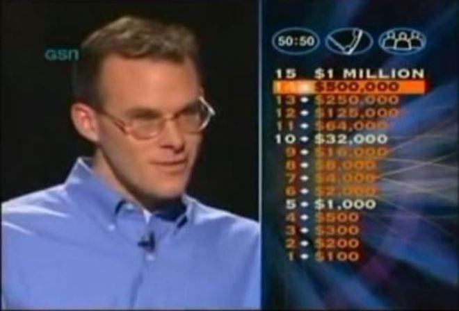 """Jugador de """"Quién quiere ser millonario"""" usó comodín para dar una noticia."""