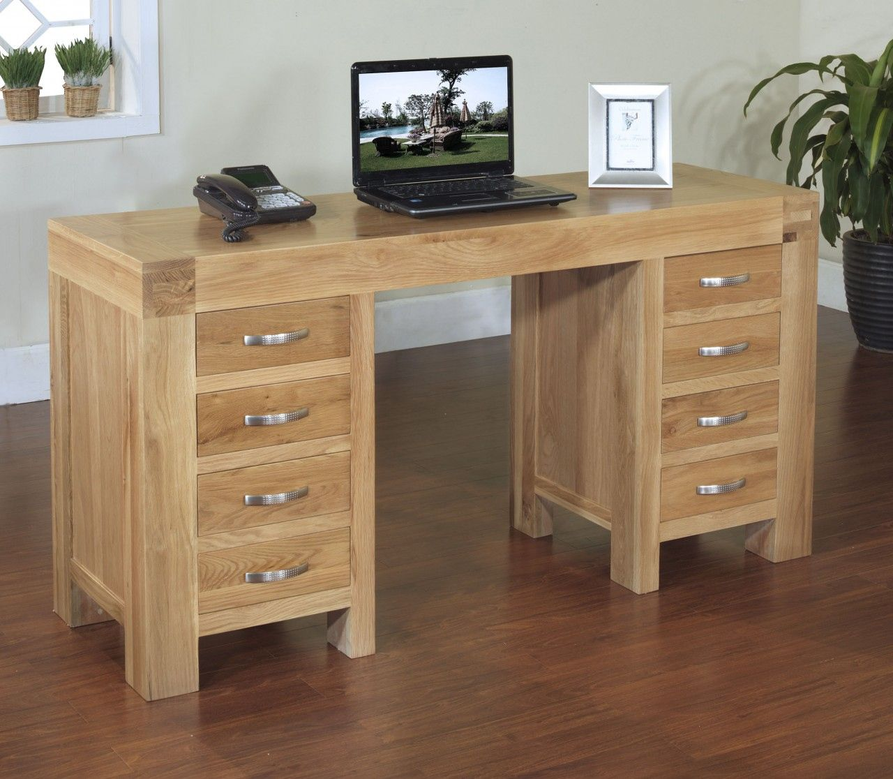 Modern Oak Desk Luxury Home Office Furniture Check More At Http Michael