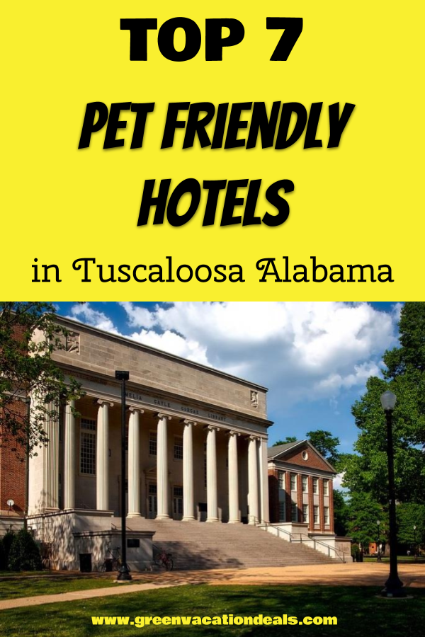 Top 7 Pet Friendly Hotels In Tuscaloosa Alabama Pet Friendly