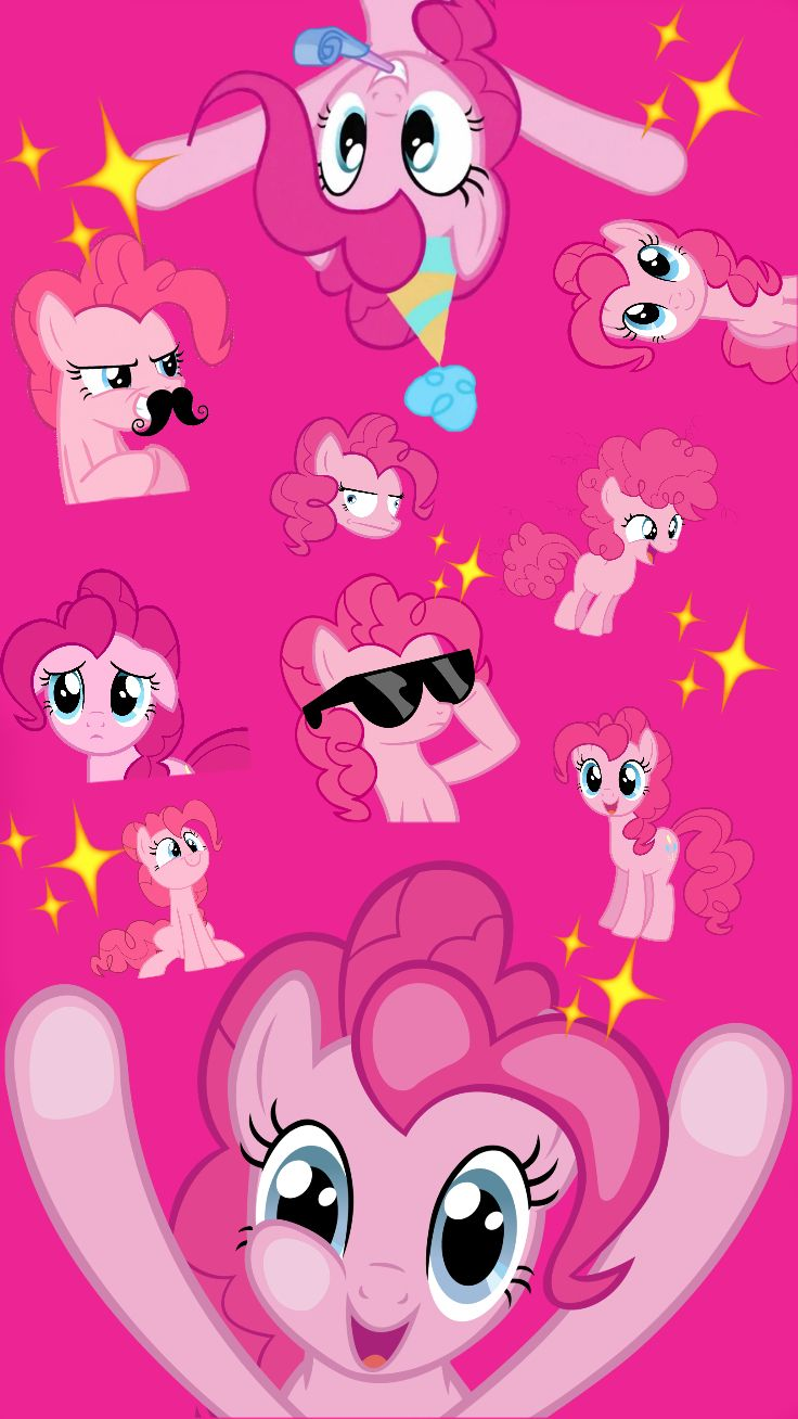 Pinkie Pie Iphone Background Gambar Lucu