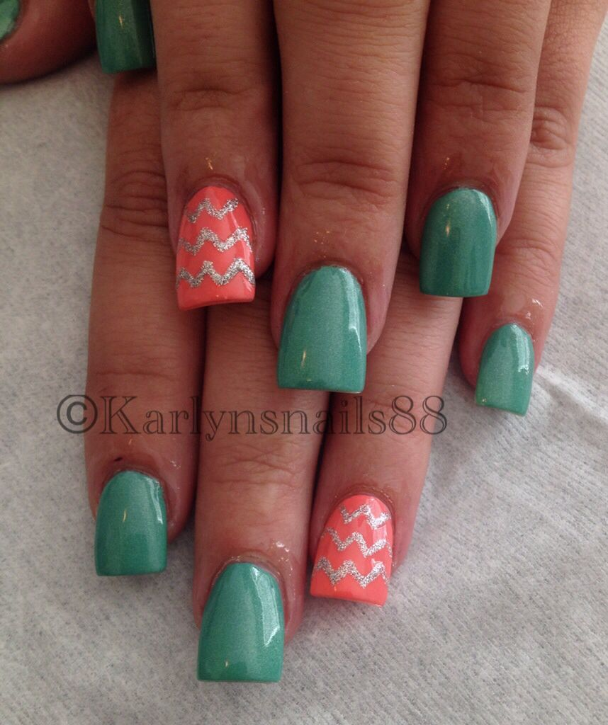 Chevron/spring design