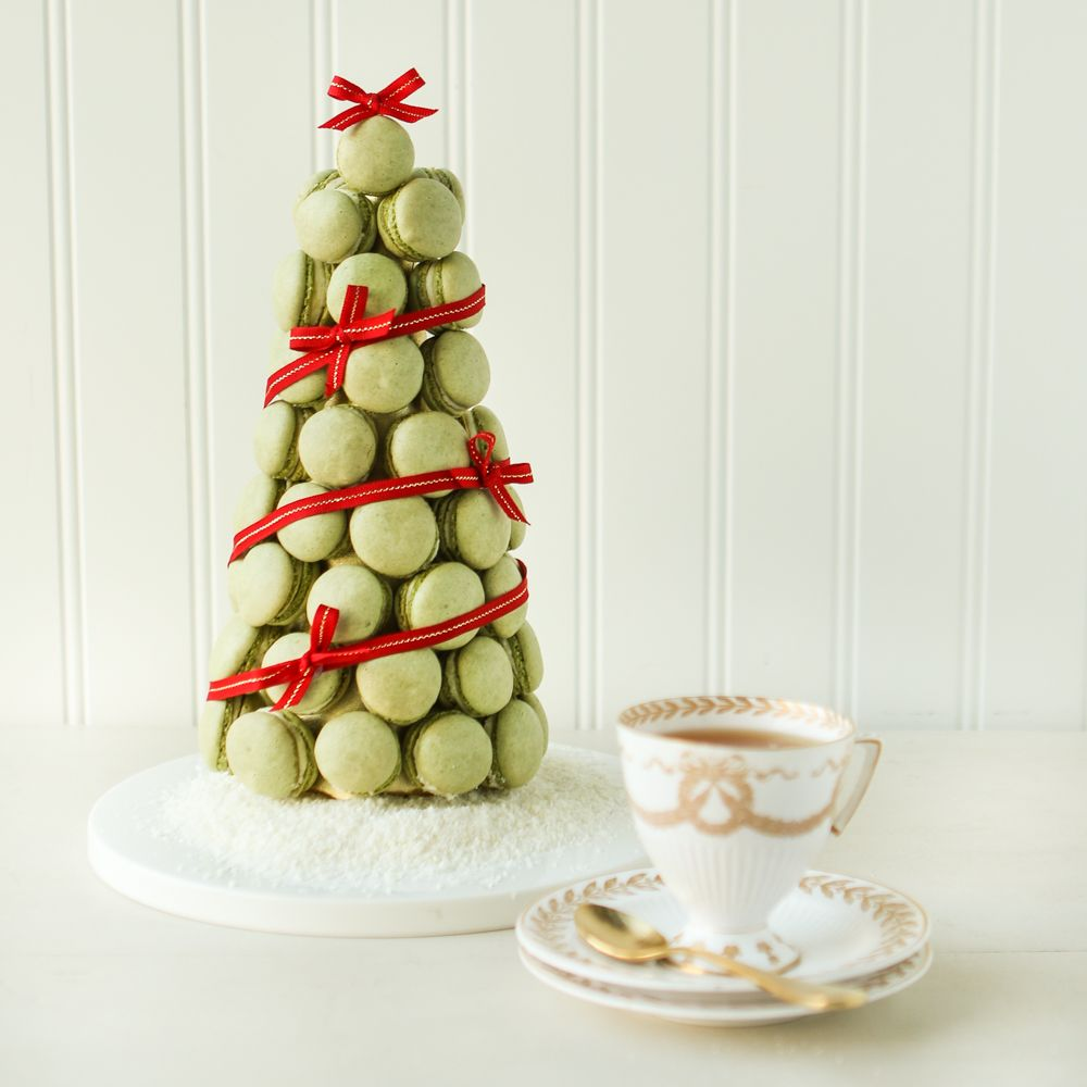 Thirsty For Tea Macaron Christmas Tree | Christmas | Pinterest ...