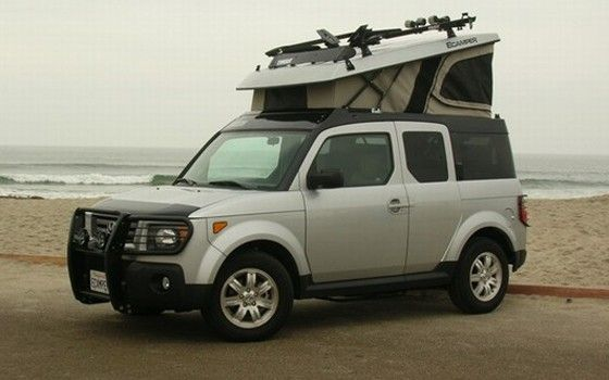 Ecamper Honda Element Camping Honda Element Camper Honda Element