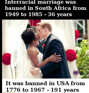 Certainly not facts on interracial marriages