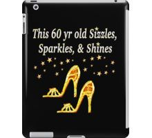 iPad Case/Skin http://www.redbubble.com/people/jlporiginals/works/15455842-glamorous-gold-60th-birthday?c=371713-60th-birthday #60thbirthday #60yearsold #Happy60thbirthday #60thbirthdaygift #60andfabulous #turning60