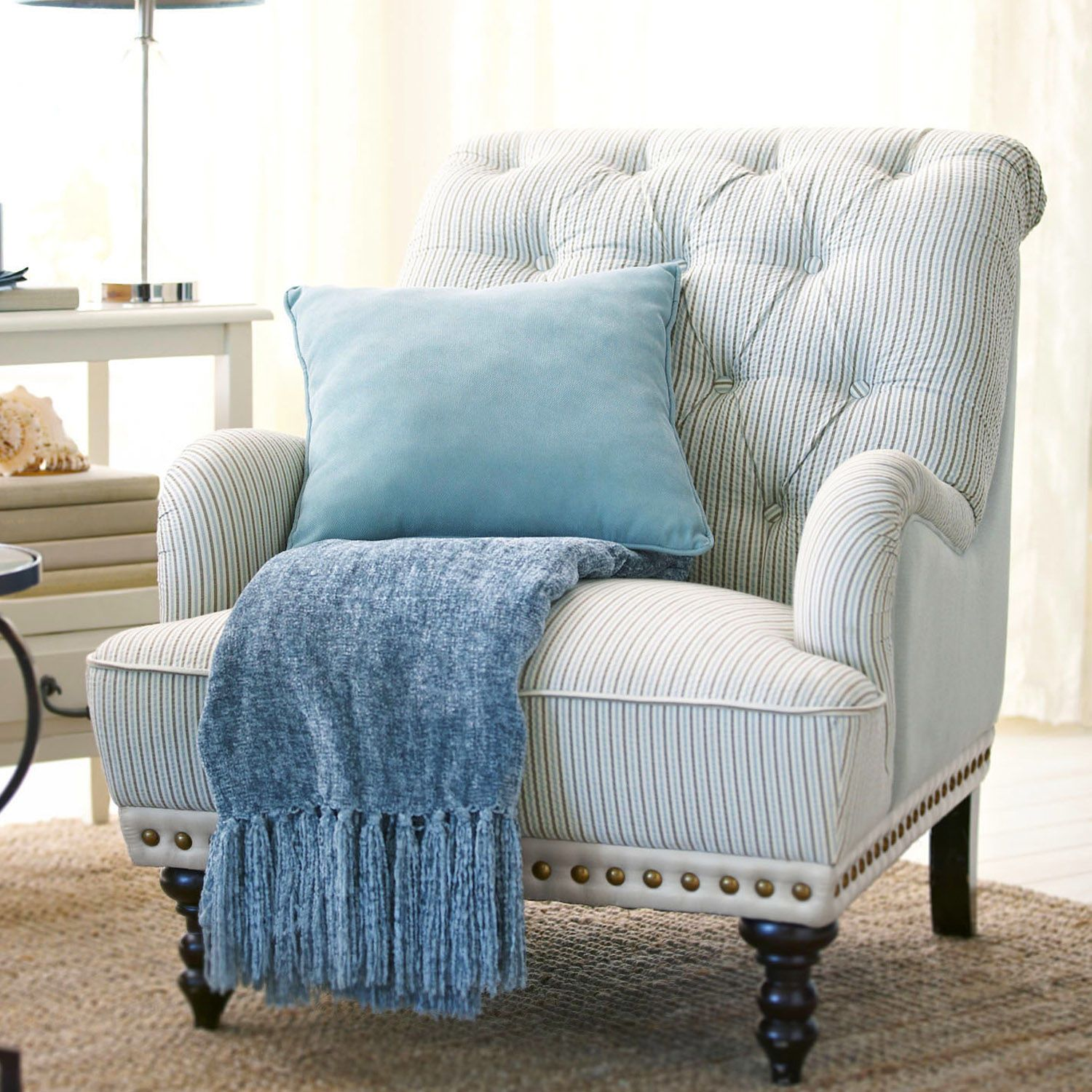 Best Possible Chair For Guest Room Chas Armchair Seersucker 400 x 300