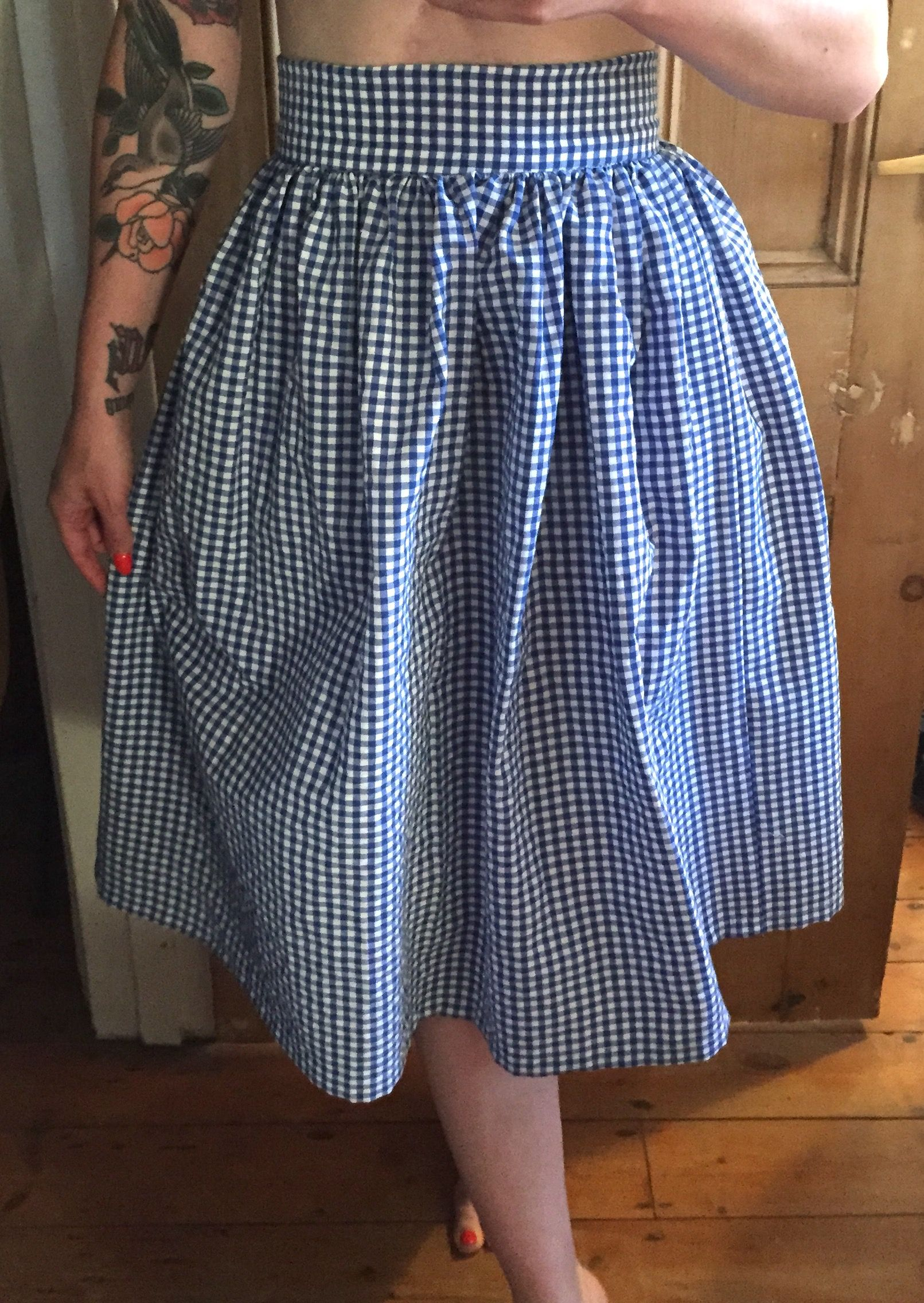 3987670a8 High Waisted Midi Skirt Sewing Pattern – DACC