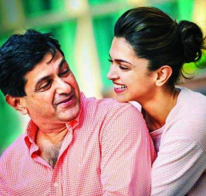 Deepika And Her Father Celebrity Families Indian Film Actress Deepika Padukone