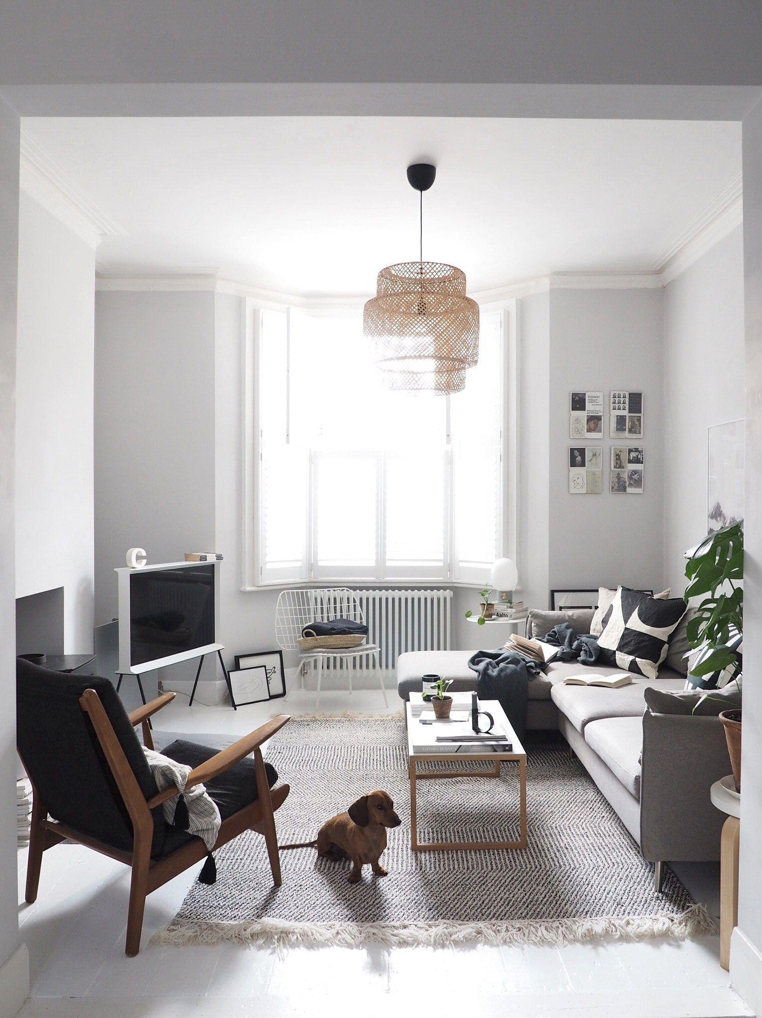 Jwda Concrete Lamp In 2020 Scandi Living Room Living Room Scandinavian Beautiful Houses Interior