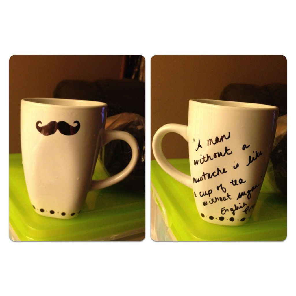 Sharpie Mug Decorate With Sharpie Bake 350 Degrees For