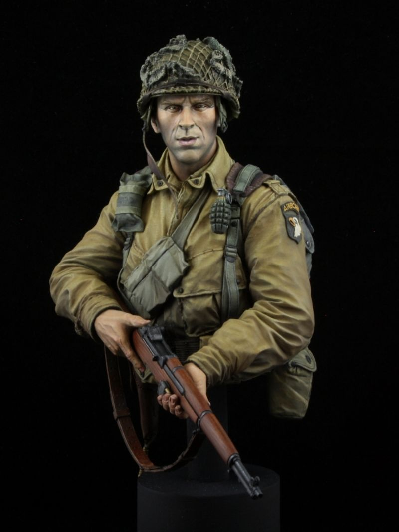Band of Brothers  |  Scale model of Lt. Richard Winters (Easy Company, 101st Airborne Division).