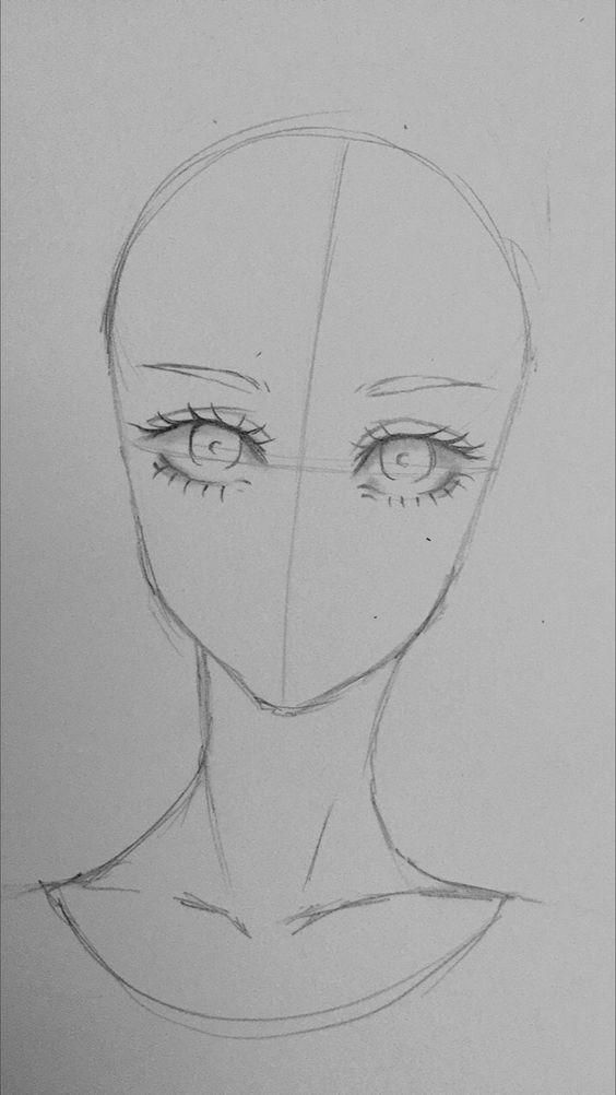 Como Desenhar Rosto Posicao Correta Dos Olhos Para Aprender A