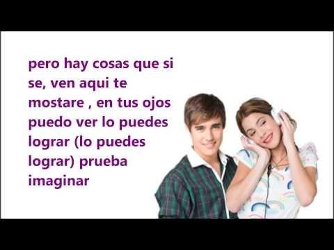 Podemos Violetta Y Leon Video Lyric Canciones De Violetta Violetta Y Leon Canciones