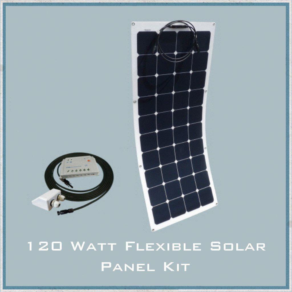 120w Flexible Solar Panel Campervan Caravan Motorhome Www Camperinteriors Co Uk Solarpanelkits Flexible Solar Panels Solar Energy Panels Solar Panels