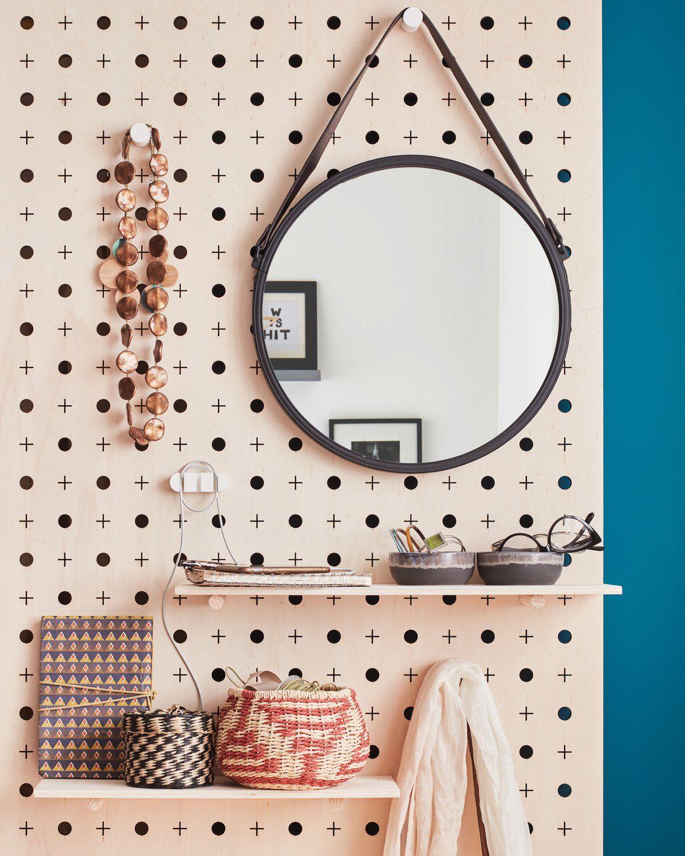 Le Miroir Barbier Vintage La Touche Retro Dans La Deco Fille Dortoirs Miroir Deco Entree Maison