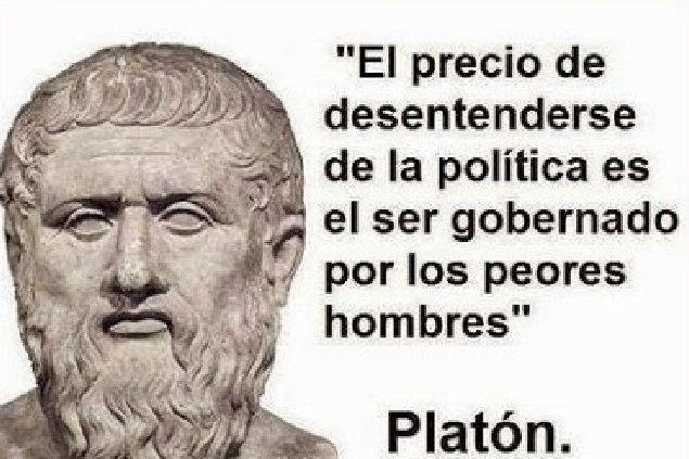 Filosofía Citas Políticas Frases De Platon Y Frases