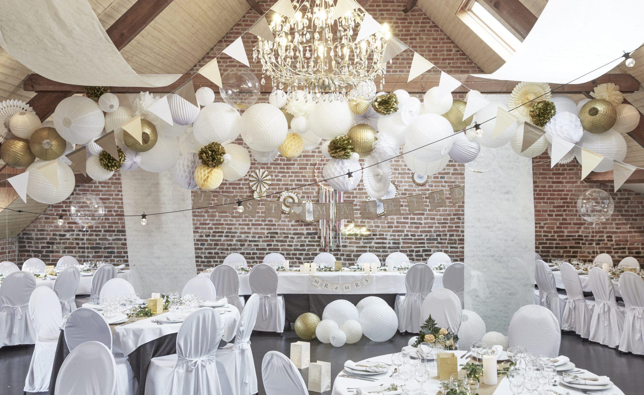 Déco plafond mariage  idées décoration, conseils et