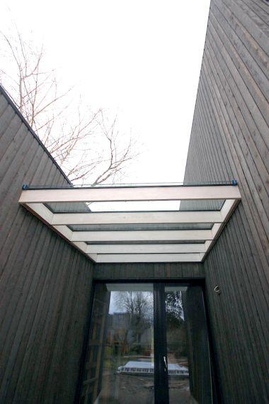 Stained Cedar Siding Roca Chica Exterior Cedar Siding Wood Canopy Vertical Siding