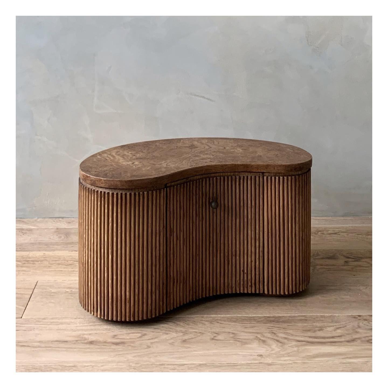Ary Bedside Table Designed By Emmanuelle Simon Design Bedsidetable Chevet Furniture Collection Material Natural Craftsmen Wood En 2020 Mobilier Meuble Design