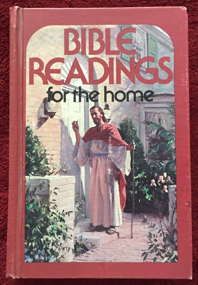 bible readings for the home 1958 hb rare christ knocking at door rh pinterest com