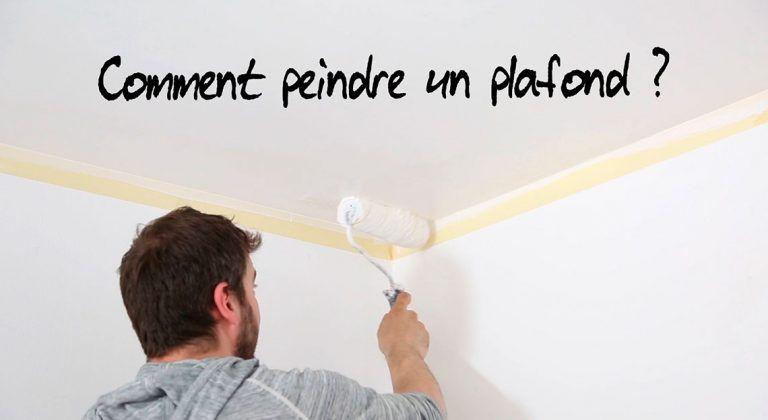 PEINDRE UN PLAFOND  COMMENT FAIRE ? Pinterest - comment peindre le plafond