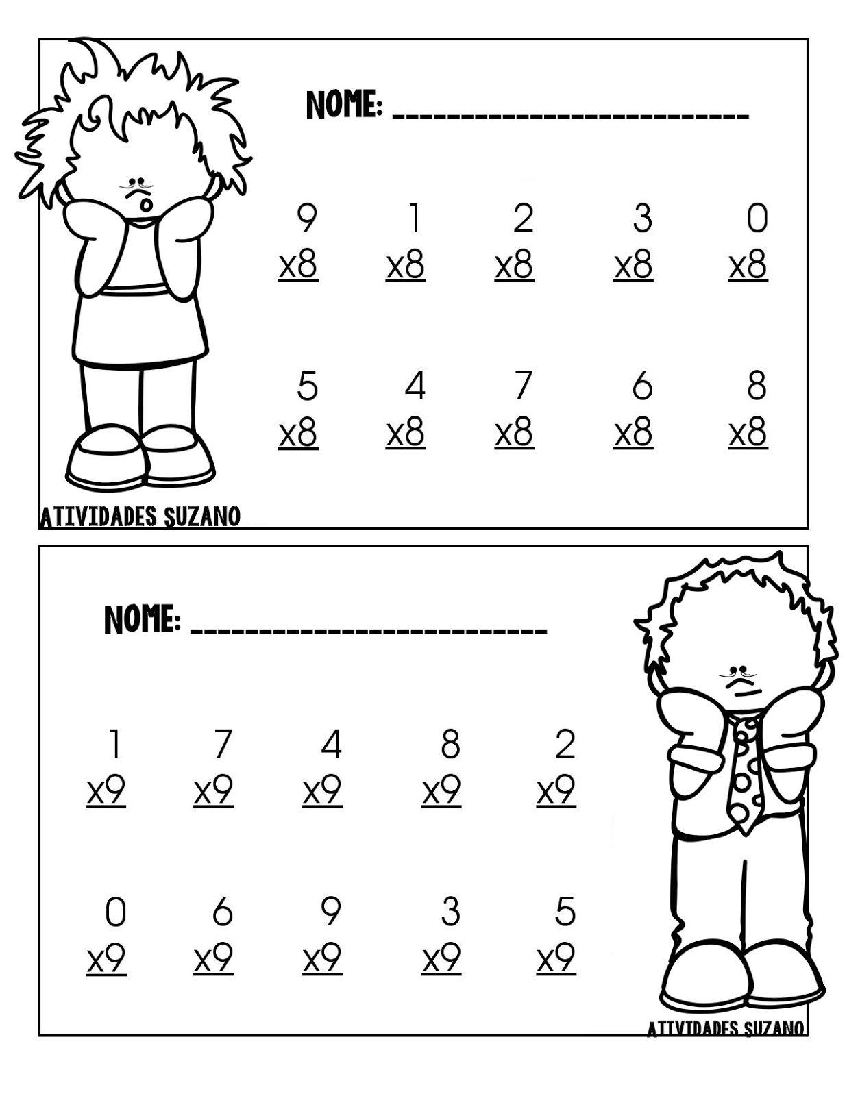 Multiplicação | îmulţirea numerelor | Pinterest