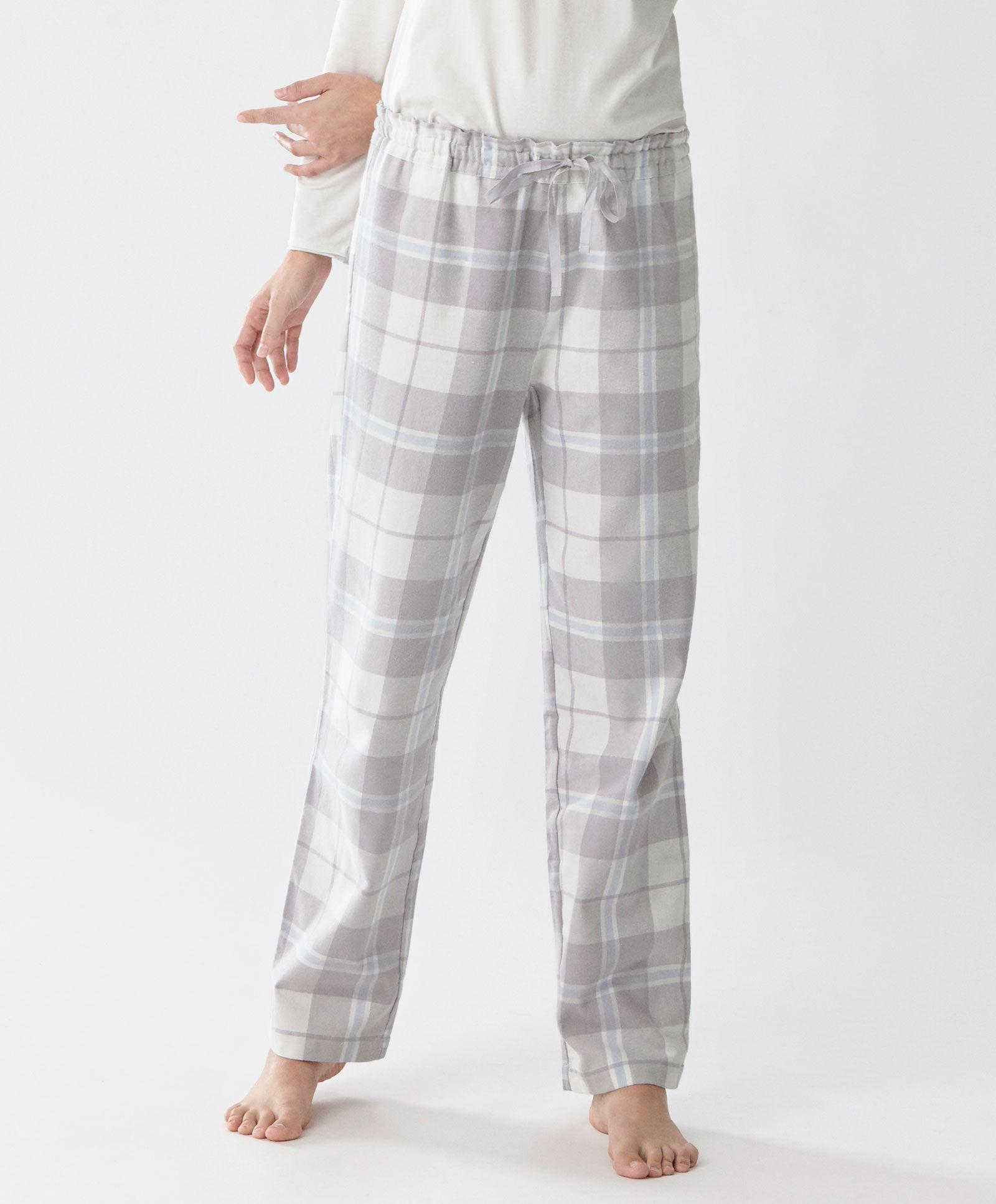 Oysho ~ Grey checked trousers