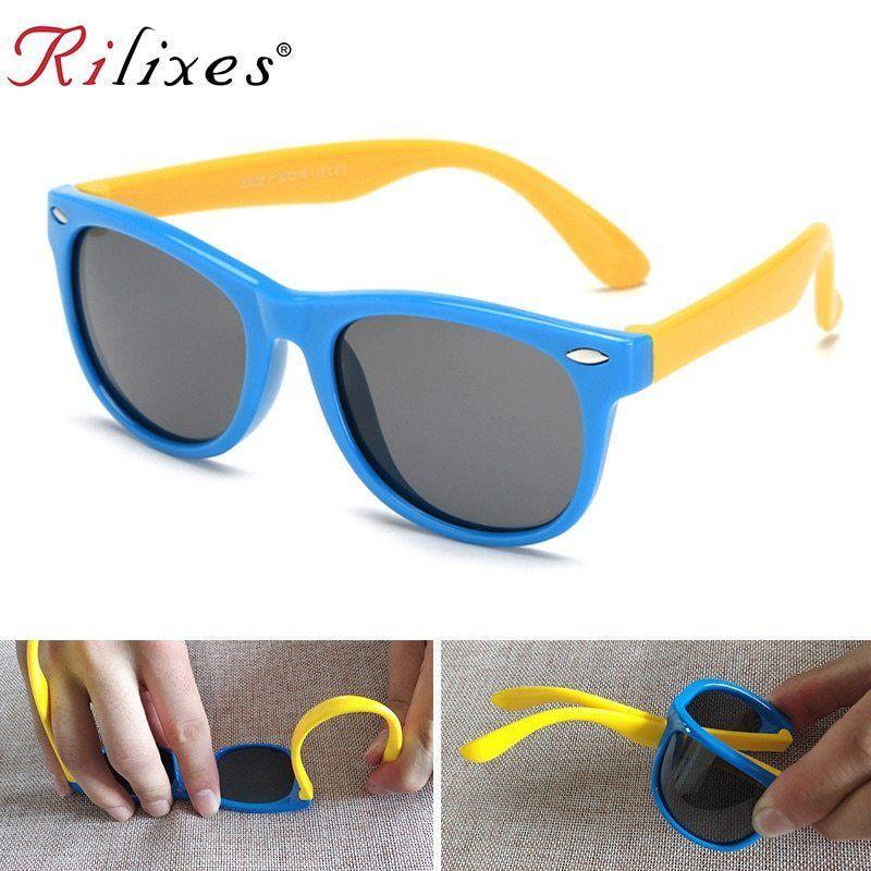 RILIXES Polarized Kids Sunglasses Boys Girls Baby Infant