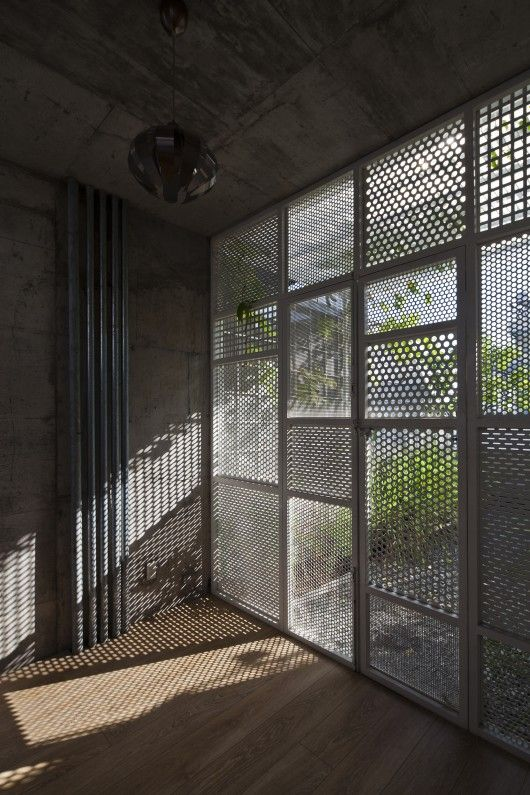 DD concept is part of architecture Interior School Architects - Completed in 2014 in Ho Chi Minh City, Vietnam  Images by Hiroyuki Oki  The house is a well conceived small sized residence located in HCM city where the building is the highest in South Vietnam  The challenges of the