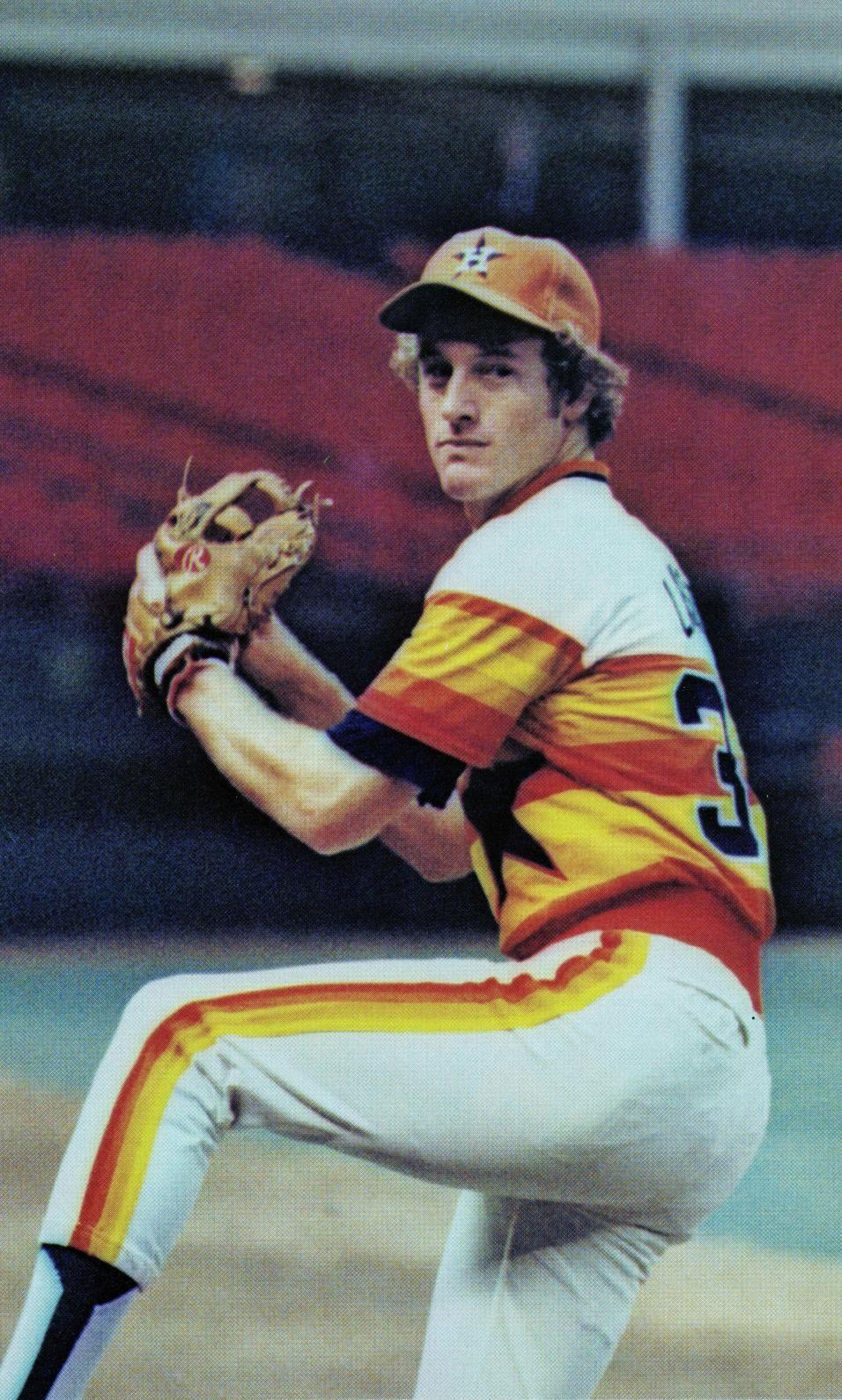 Dan Larson Astros Baseball Houston Cards