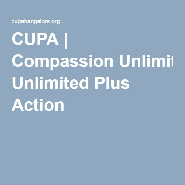 CUPA | Compassion Unlimited Plus Action