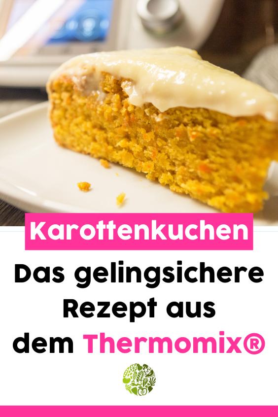 Orangen-Karottenkuchen aus dem Thermomix mit Icing • will-mixen.de