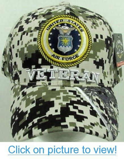 19b5b04c878dd OFFICIALLY LICENSED US AIR FORCE VETERAN CAP COVER HAT - DIGITAL CAMO   OFFICIALLY  LICENSED  US  AIR  FORCE  VETERAN  CAP  COVER  HAT  DIGITAL   CAMO