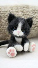 Cats #needlefeltedcat