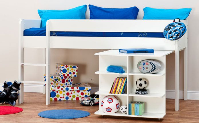 Browse our range of Stompa beds at Furniture Choice.  sc 1 st  Pinterest & Stompa Uno White Midi Sleeper Storage Bed | Kids Bedroom Ideas ...