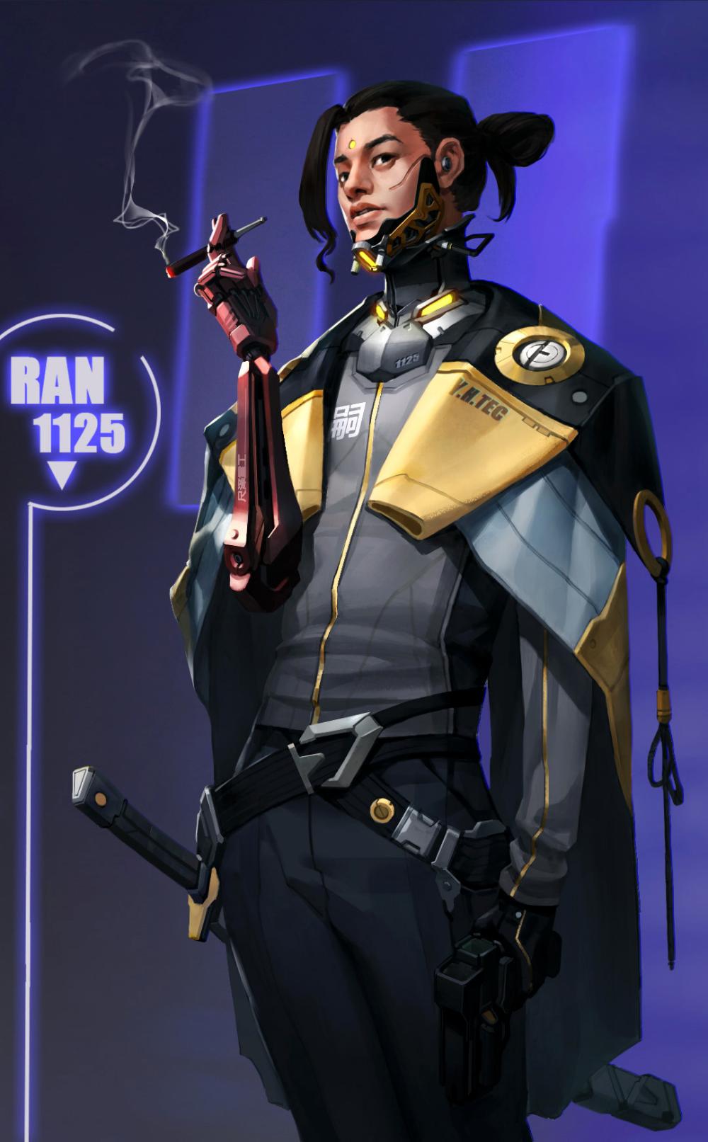 Character design, Darryl He